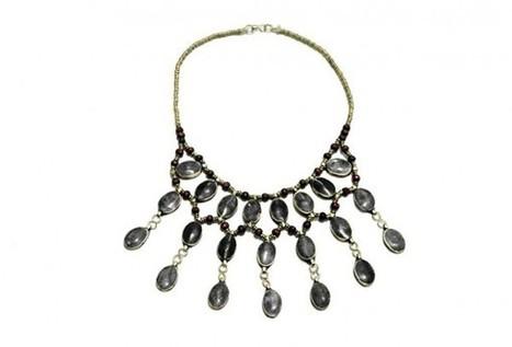 New Design Afghan Fashion Necklace Kuchi Banjara Jewelry Neckwear | Buy Belly Dance Jewelry Tribal Fusion Bellywood | Scoop.it