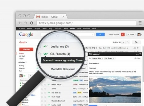 MailTrack: l'outil malin pour savoir si votre destinaire a lu votre email | Time to Learn | Scoop.it