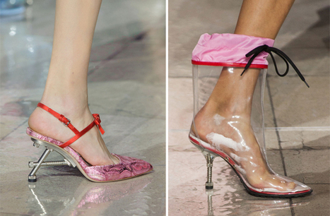 Miu Miu's Fall 2014 Shoes Were Nuts (and Bolts) | SHOES | Scoop.it