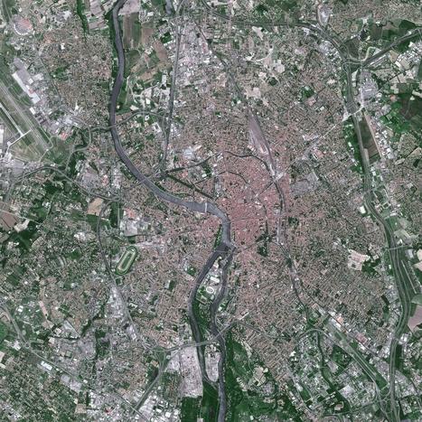 Toulouse par satellite : 30 ans de croissance | Toulouse Actualités | Scoop.it