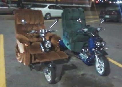 La-Z-Boy Motorcycles « Bits and Pieces | Bike.fm | Scoop.it