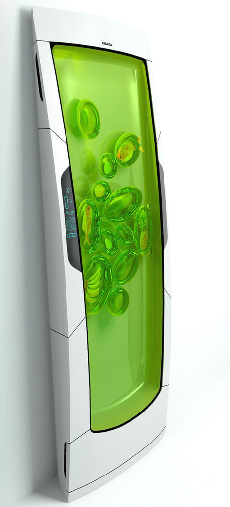Electrolux Bio Robot Refrigerator by Yuriy Dmitriev » Yanko Design | fukamachi IO | Scoop.it