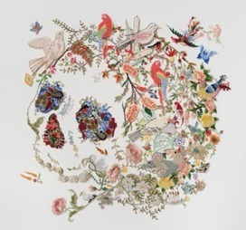 INTERVIEW WITH LOUISE SAXTON - DEBORAH KRUGER | Art & Craft | Scoop.it