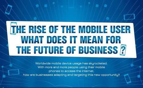 [Infographic] The Rise of the Mobile User - markITwrite | Mobile Life | Scoop.it
