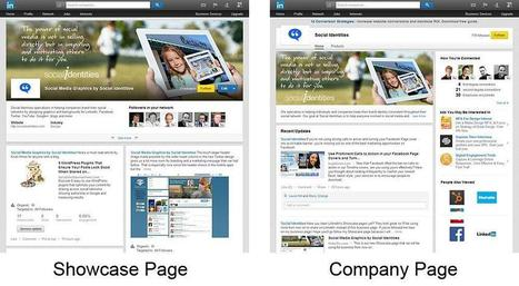 Showcase Pages Take LinkedIn Company Pages to a Whole New Level | B2B Marketing & LinkedIn | Scoop.it