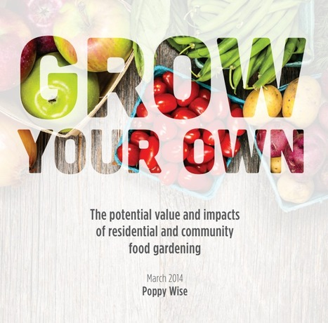 Grow your own - The Australia Institute | Innate Ecology | Scoop.it