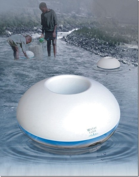 Watertube: distills water and stores the sanitary water | Plan Your Plan | Scoop.it