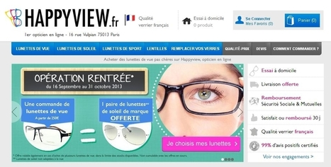 Happyview et Malentille.com rachetés par le Groupe M6 - Ecommerce Magazine | le monde des lunettes online | Scoop.it