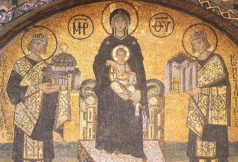 Byzantium Revisited: The Mosaics of Hagia Sophia in the Twentieth Century - Medievalists.net | Smash!Mosaics | Scoop.it