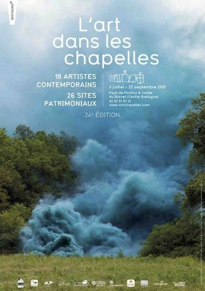 L' art dans les chapelles 2015 : 18 artistes, 26 sites patrimoniaux, 4 circuits | art move | Scoop.it