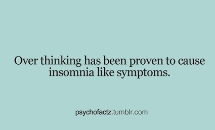 Tänk inte för mycket | Bastis Psykologi | Scoop.it
