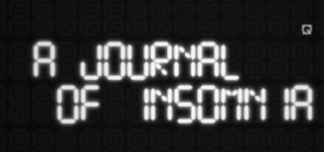 A Journal Insomnia « Translimitstorytelling | A journal of insomnia | Scoop.it