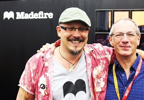 Madefire Interview With Liam Sharp And Dave Gibbons All Day Comics | Home Profesional Viewer | Madefire Comics | Scoop.it