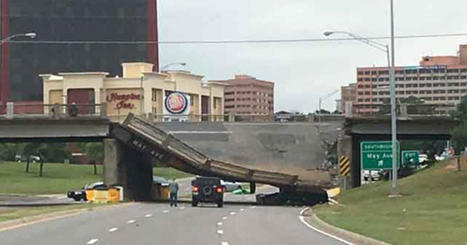 Overpass collapses onto Oklahoma City highway | Truckers Daily | Scoop.it