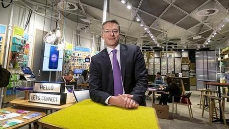 Telstra's new approach to retail design sees the shop floor as a dance floor | IT & FS | Scoop.it