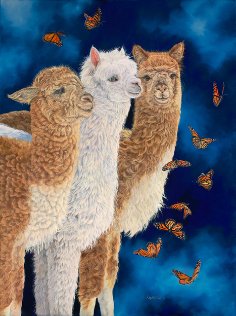 "New Paintiing ""Midnight Ballet"" 