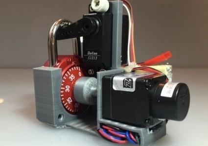 Watch this 3D printed, Arduino-based robot crack any Master Combination Lock ... - TechSpot | Raspberry Pi | Scoop.it