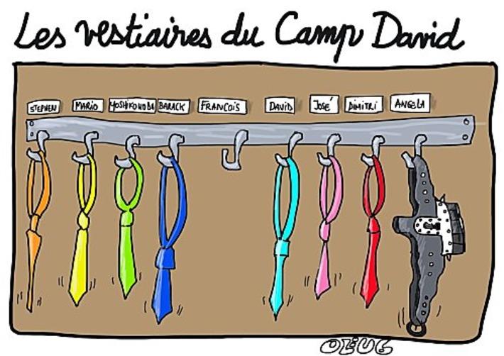 Les Vestiaires du Camp David | Baie d'humour | Scoop.it