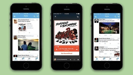 Twitter Now Lets You Listen to Audio in App While Browsing Your Timeline | Social Media Useful Info | Scoop.it