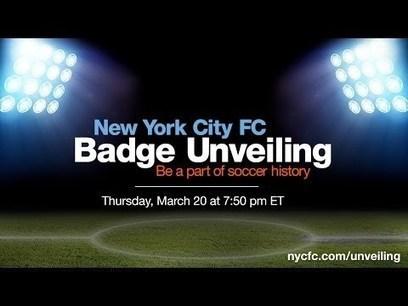 New York City FC Badge Unveiling   network marketing   Scoop.it