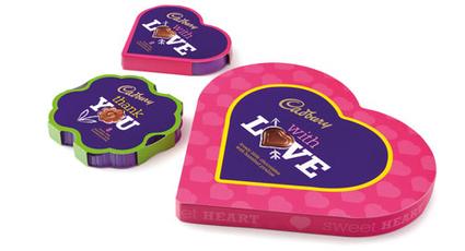 'Say it with Cadbury' Gift Range and Customized Chocolate Bars | Inspiring Logo Designs | Scoop.it