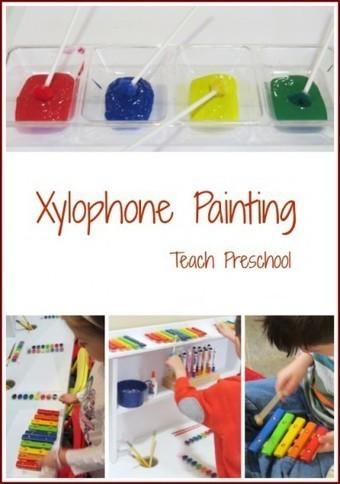 Xylophone painting | Teach Preschool | Scoop.it