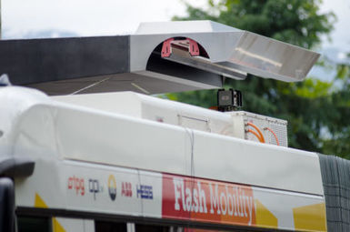 ABB 'flash charges' electric bus in 15 s | Automotive Development | Scoop.it