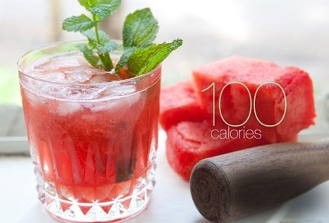 Skinny Cocktails Slideshow: Low-Calorie Mojito, Margarita, Daiquiri, and More   The Basic Life   Scoop.it