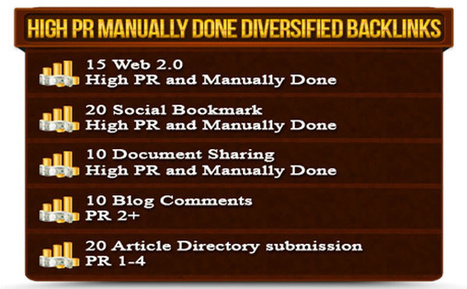 armansto : I will manually create 75 quality high pr 1 to 9 dofollow backlinks from 5 different properties with unique domain for $5 on fiverr.com | buy high quality backlinks | Scoop.it