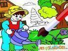 Coloriages à imprimer et jeux de coloriage | FLE enfants | Scoop.it