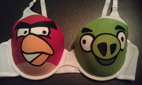 Angry Birds Bra: Start a Boob Fight   Angry Birds   Scoop.it