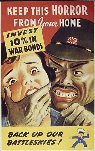 Anti-Japanese Wartime Propaganda   Vintage & images   Scoop.it