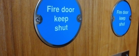 Fire doors save lives says Cheshire Fire & Rescue   UK Fire Prevention   Scoop.it