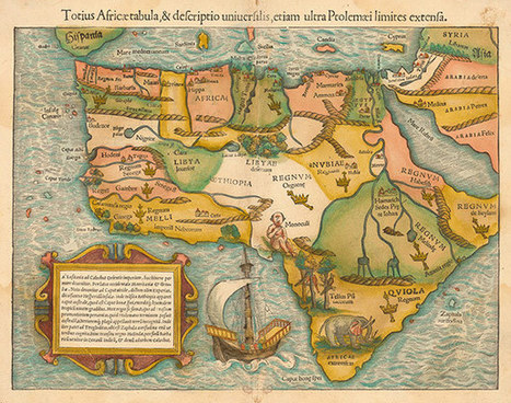 Africa mapped: how Europe drew a continent | Cartography | Scoop.it