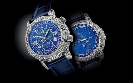 Patek Philippe Sky Moon Tourbillon Ref. 6002   Watch Critic   Watch Magazine   Scoop.it
