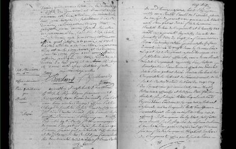 État civil réunionnais de 1704-1907: Les archives nationales mettent en ligne un trésor historique | Clément SUZANNE | Scoop.it