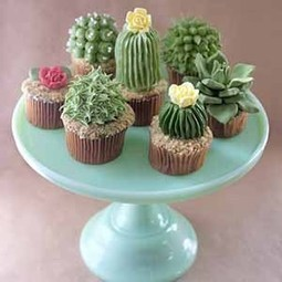 Succulent cupcakes - seriously | Dirt Du Jour | Natural Soil Nutrients | Scoop.it
