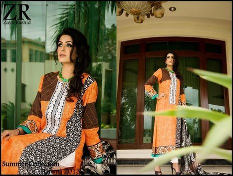 Summer Lawn Dresses for Women By Zayn Rashid | Free Hot Fashion | Stylish Lawn Prints | Scoop.it