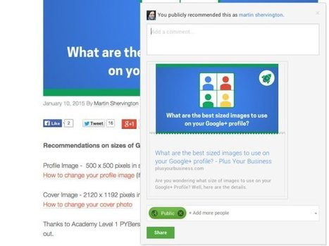 10 reasons Businesses need to get started on Google Plus Now! | The Monday Marketing Club | Scoop.it