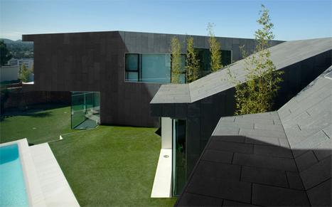 ARCHITECTURE >>> House C à Barcelone par Santiago Parramón ... | Around MAterials | Scoop.it