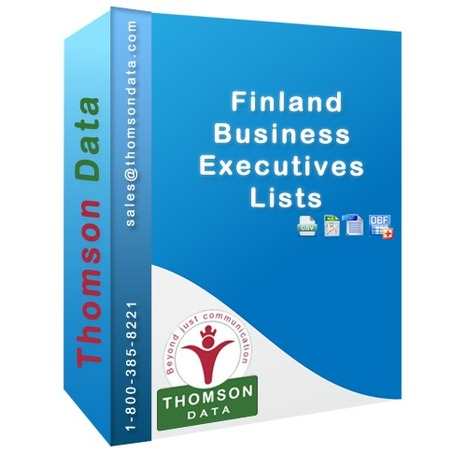 Finland Business Executives Lists | Finland CEO Lists | Finland CMO Lists | Marketing List | Scoop.it
