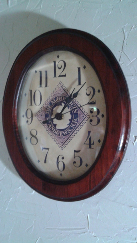 UPCYCLED: The One-and-only Algonquin Hotel Clock is finished! | The Nature of Art | Scoop.it
