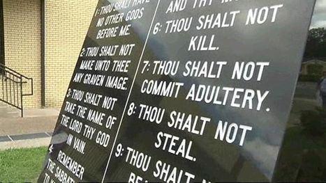 Atheist group calls for removal of Ten Commandments | Stark, FL 10 Commandments Protest | Scoop.it