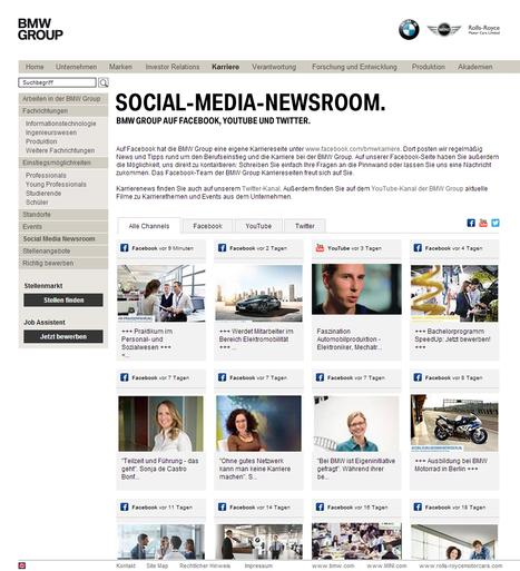 BMW Group: Karriere | Social Media Newsrooms | Scoop.it