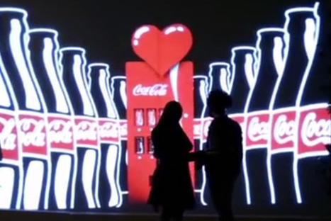 Coca-Cola Vending Machine Can Only Be Seen By Couples [Video] - PSFK | Radio Show Contents | Scoop.it