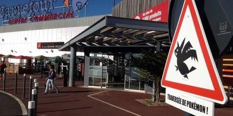 Mont-de-Marsan : un panneau de signalisation... traversée de Pokémon ! | BABinfo Pays Basque | Scoop.it