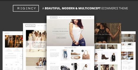 Regency - A Beautiful & Modern Ecommerce Theme - themeloud.com | Free Download Premium Wordpress Themes and Plugin | Scoop.it