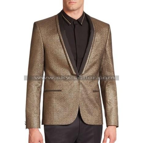 Joker Suicide Squad Golden Tuxedo   Sky-Seller : Men Leather Jackets   Scoop.it