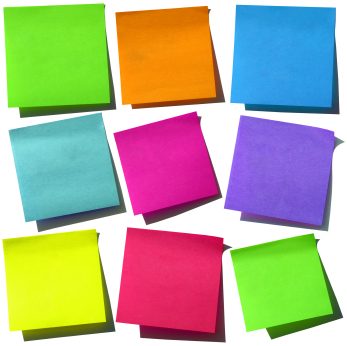 Free Vector Post it Notes + Push Pins | fuzzimo | Graphic Design | Scoop.it