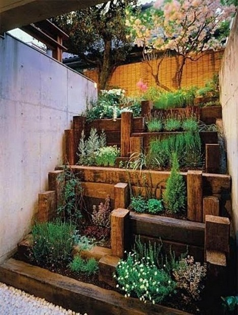 30 magical zen gardens nice n funny balcony for Balcony zen garden ideas